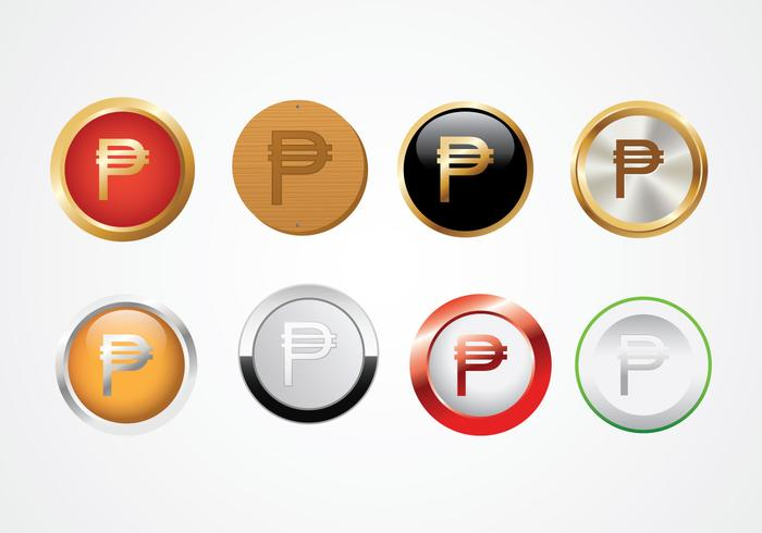 Valuta Peso Symbool Vector