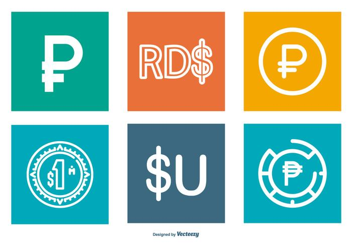 Peso Icon Sammlung