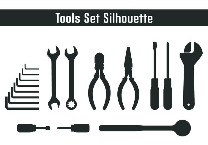Tools Set Silhouette