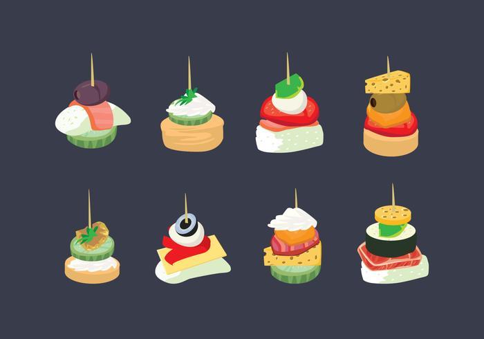 Appetizers Vector