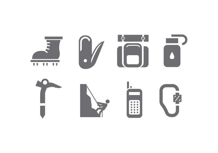 Alpinist tools icon