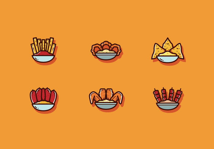 Free Appetizers Vector