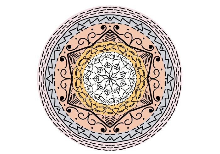 Mandala islâmica Mandala Free Vector