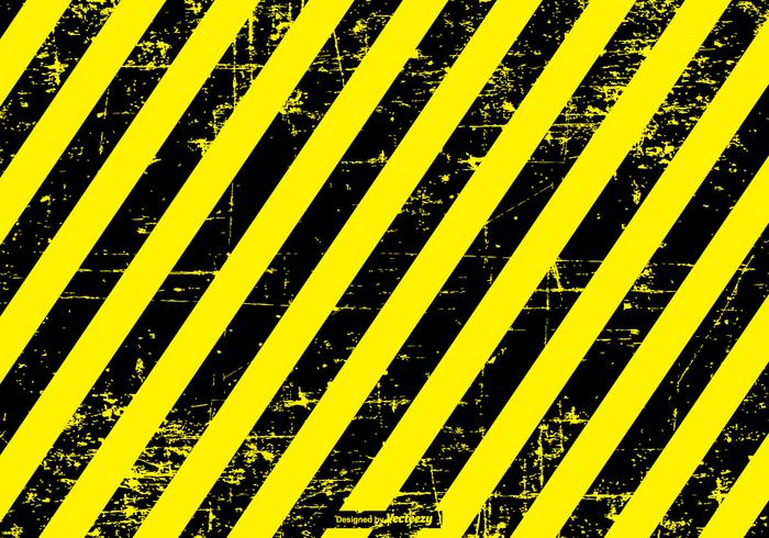 Grunge Perigo / Caution Background vetor