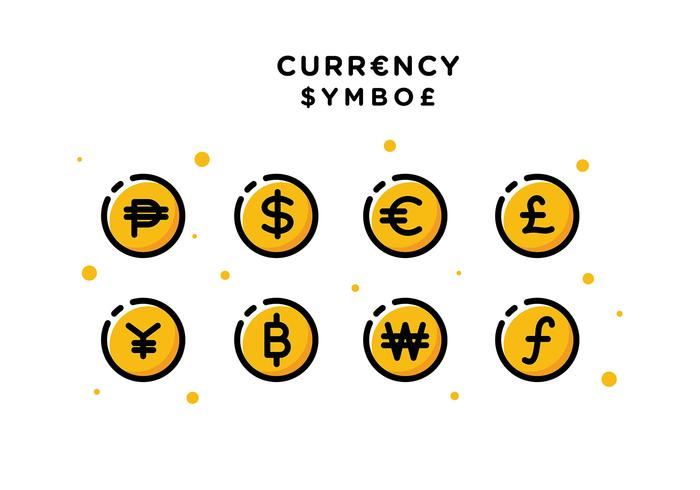 Currency Symbol Free Vector