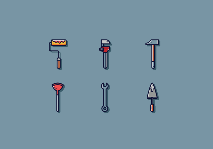 Free Tradesman Werkzeug Vektor