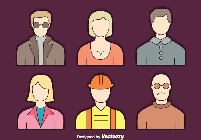 People Profession Collection Vector