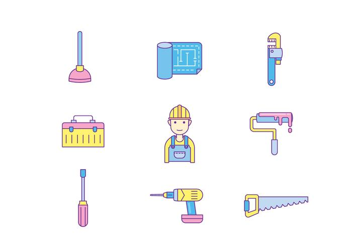 Repairman Icon vector