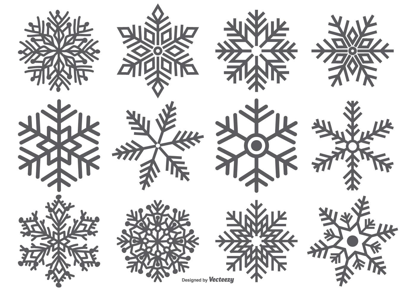 Snowflake Free Vector Art - (7056 Free Downloads)