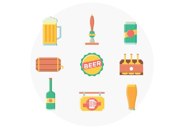 Bier Icon Set