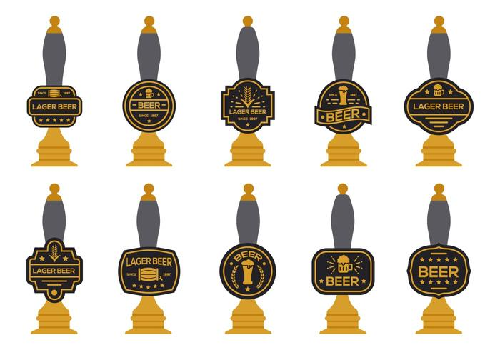 Free Beer Pump Vector