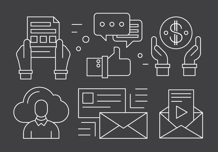 Minimal Business Icons