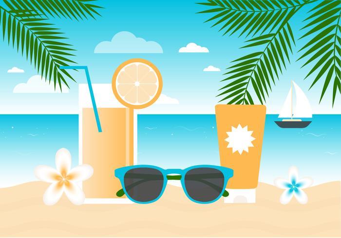 Fond d'écran gratuit Flat Summer Beach