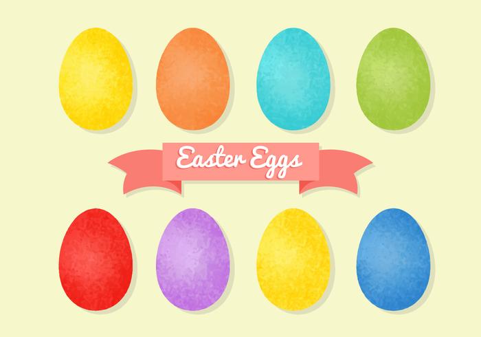 Free Grainy Easter Eggs