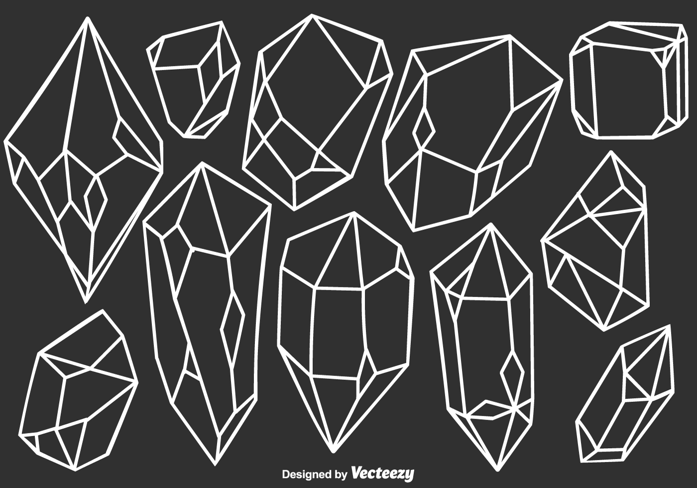 Crystal Free Vector Art - (2011 Free Downloads)