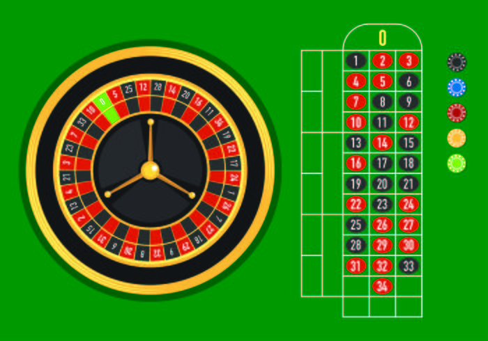 Sample Vector Of Roulette Table