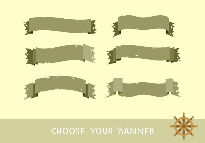 Old Banner Free Vector