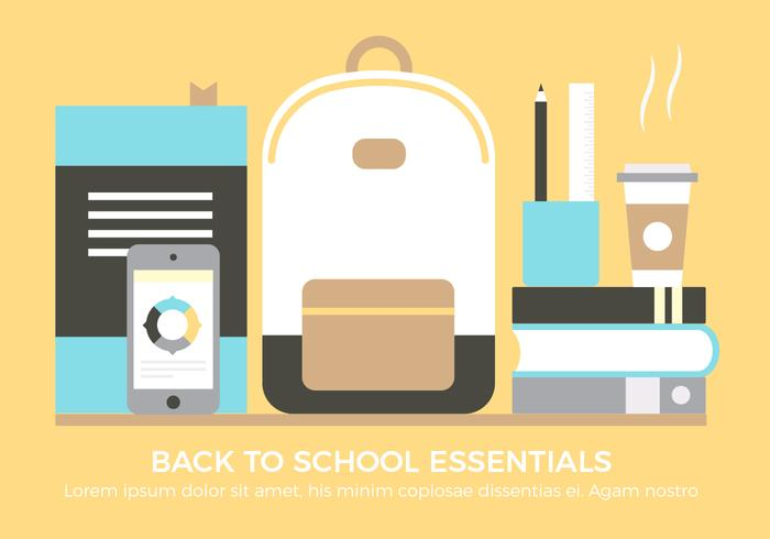 Free Back To School Vektor-Elemente