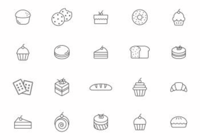 Bakery and Pastry Vectors
