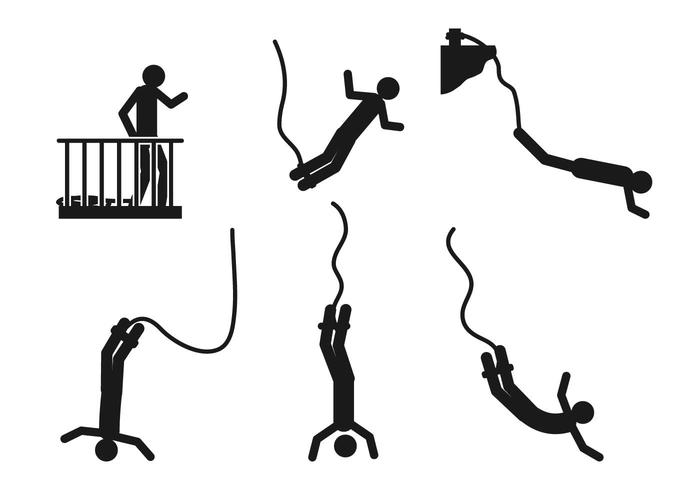 Bungee vector set