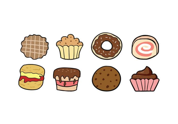 Cookies and Cake Icons