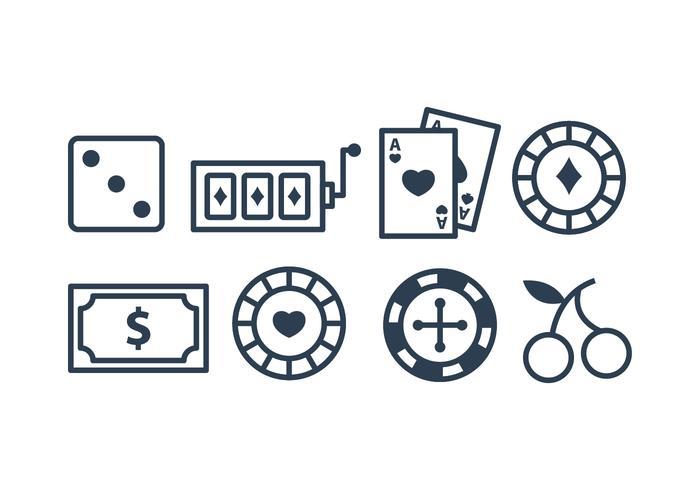 Paquet d'icônes de casino