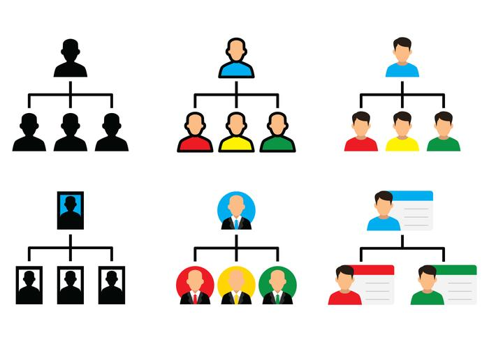 Organisatie Chart Icon