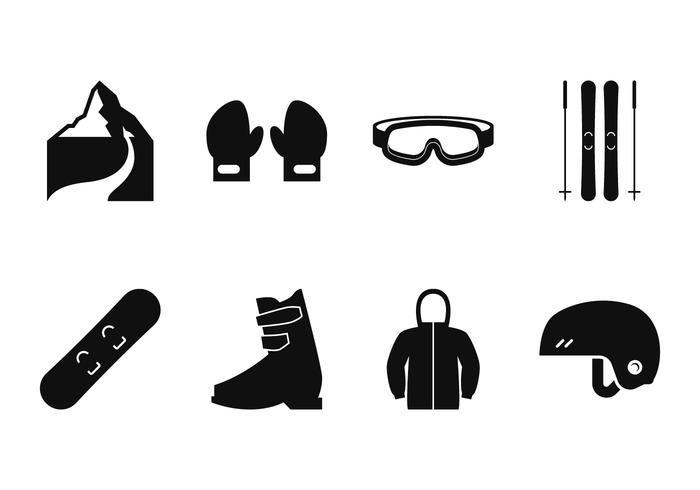 Icono de esquí