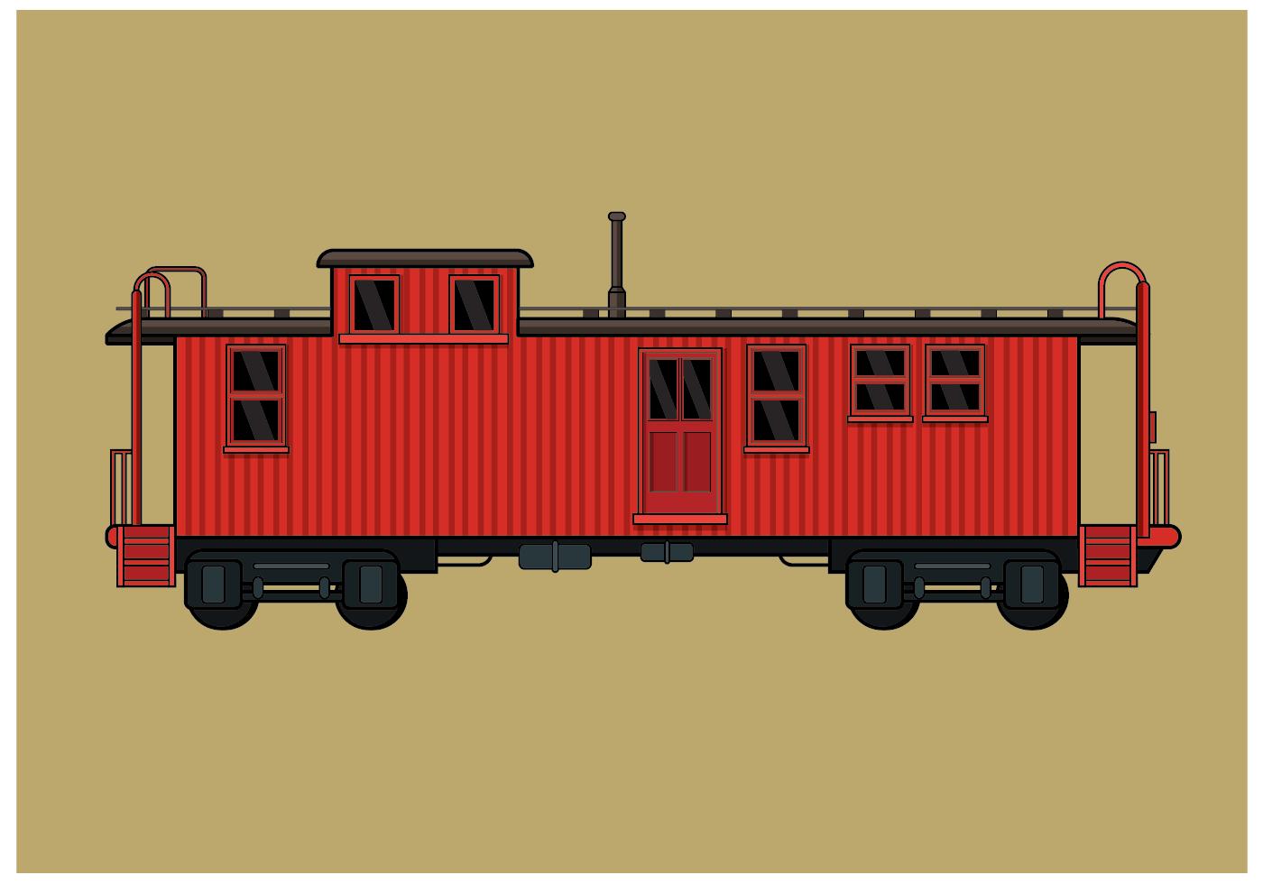 火車插畫 免費下載 | 天天瘋後製