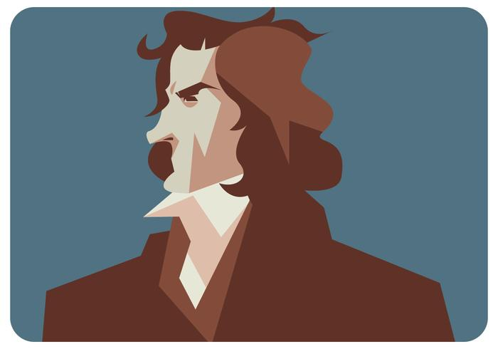 Beethoven Ilustración Vectorial