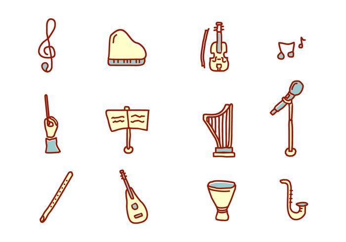 Icônes de musique classique