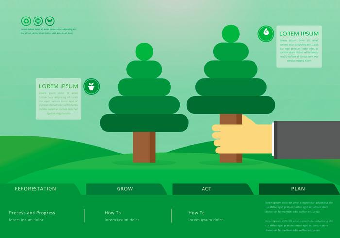 benefits of reforestation, web template download free vector artbenefits of reforestation, web template