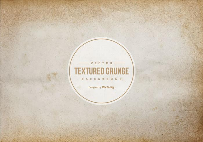 Textura de papel de Brown Grunge vector