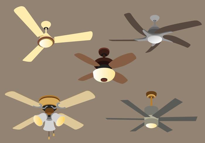 Pacchetto di vettore ventilatore a soffitto
