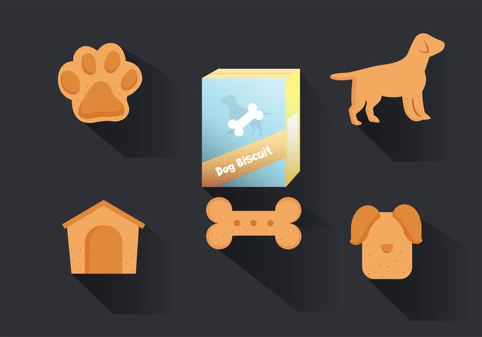 Dog Biscuits Vector Pack