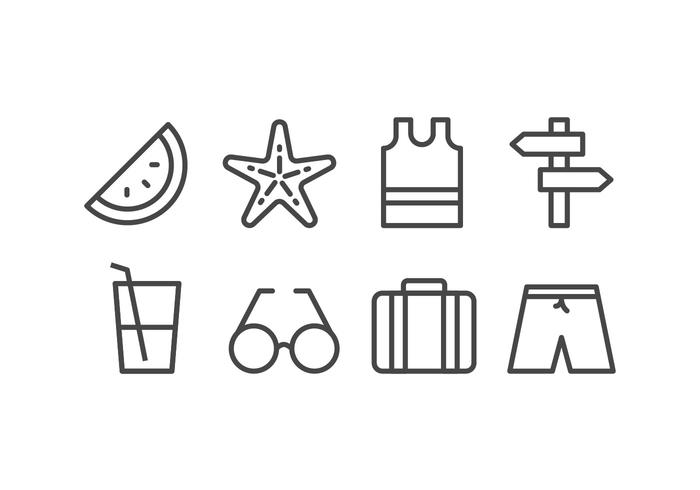 Strand Icon Set