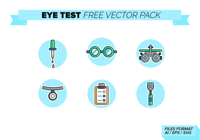 Eye Test Free Vector Pack