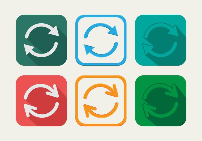 Update Circle vector icon