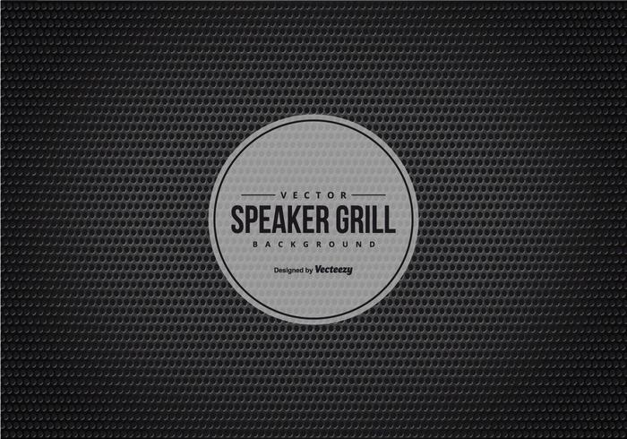 Black Speaker Grill Texture Background