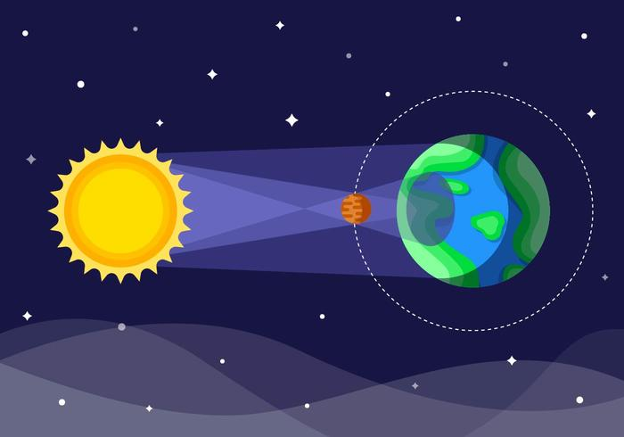 Free Solar Eclipse Vector