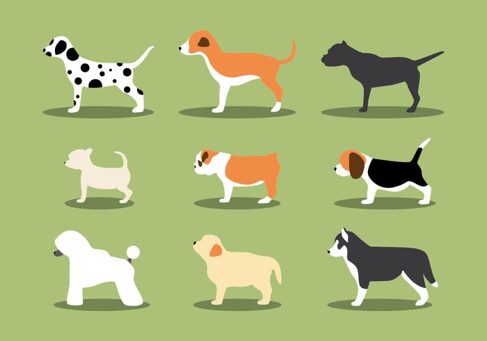 The Puppies Vectors