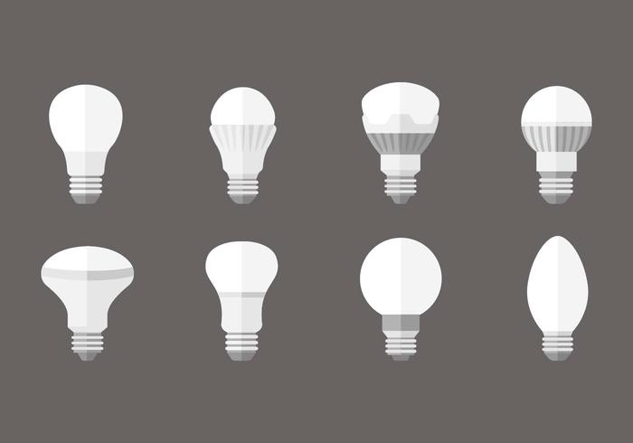 Free LED lights Bulp Vector - Download Free Vectors, Clipart ...