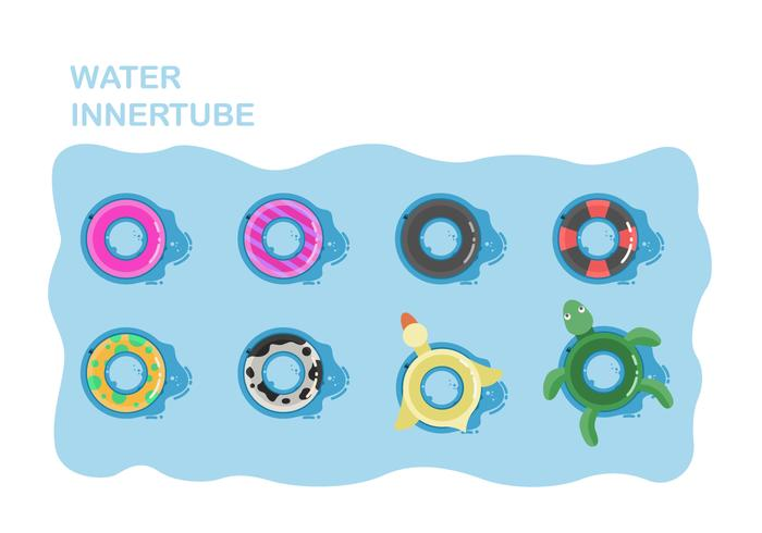 Free Water Inner tube Vector Collection