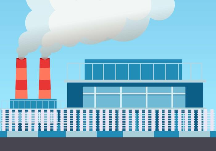 Smoke Stack Vector