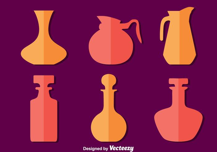Silhouette Decantes Collection Vector