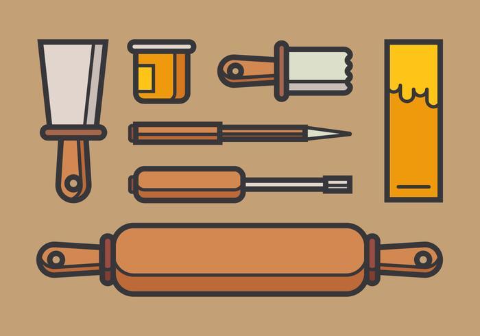 Litografiska verktyg