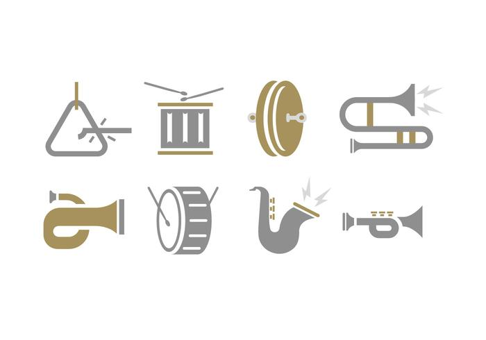Marching Band Tools icon vektor