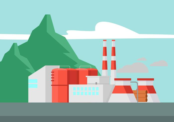 Smoke Stack Illustration vector