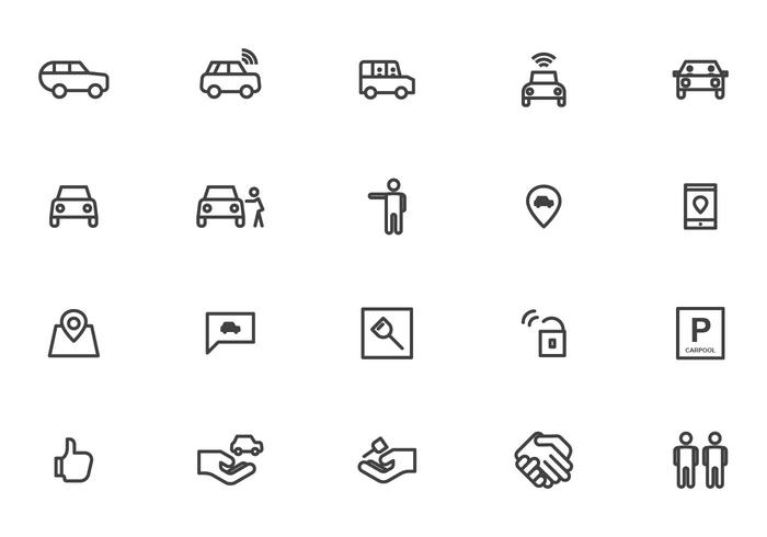 Free Carpool Vectors