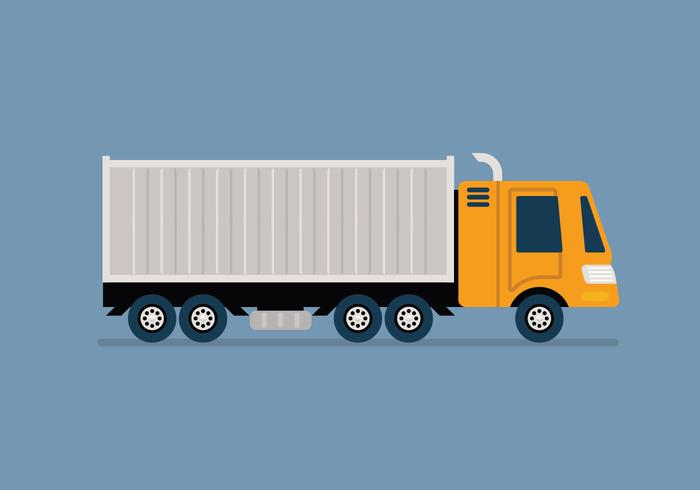 Moving truck vector illustration